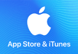 Carte iTunes & App Store 5€