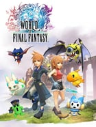 Game cover World of Final Fantasy