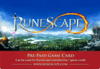 Card image of Runescape Gift Card